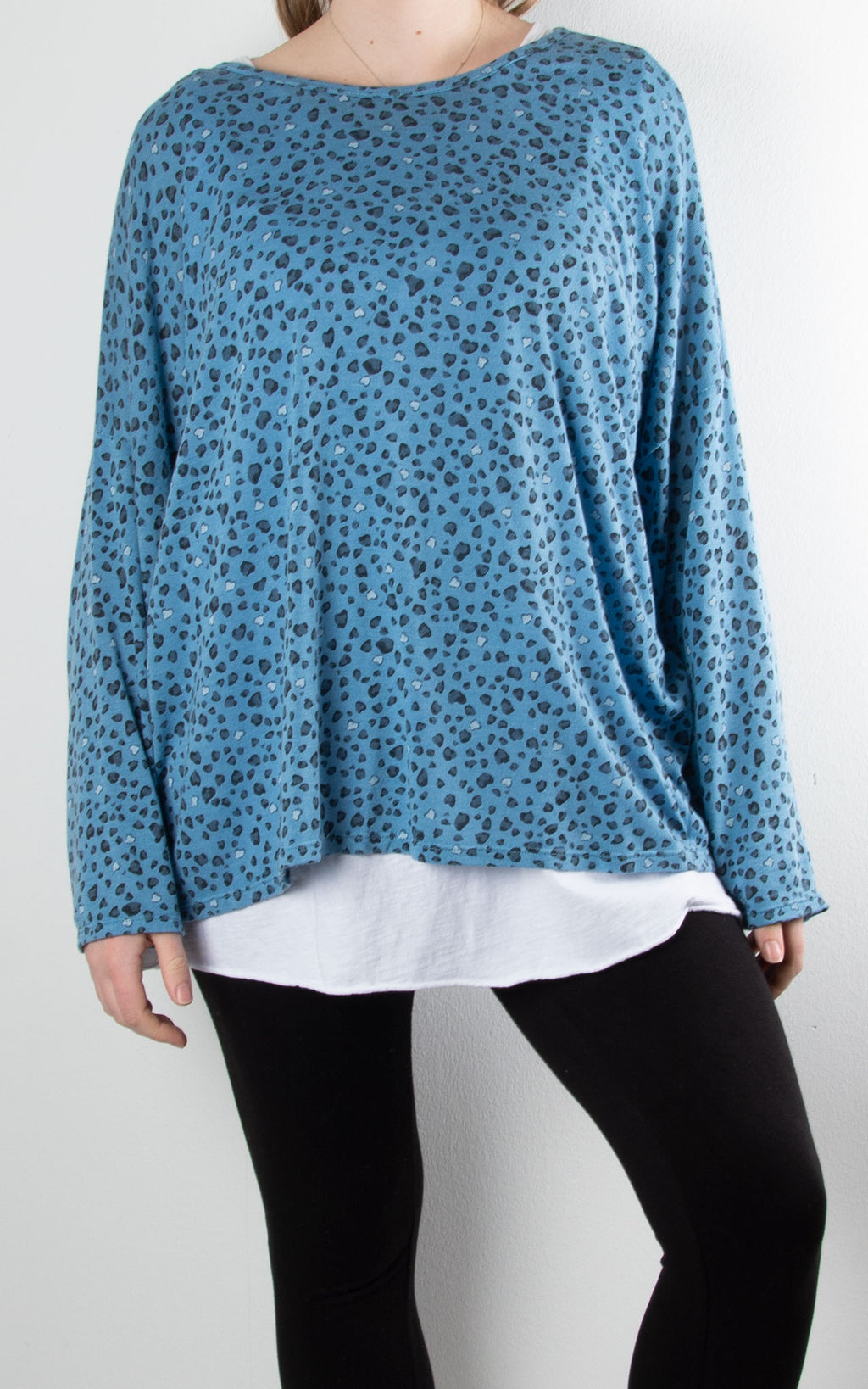 Double Layer | Leopard | Blue
