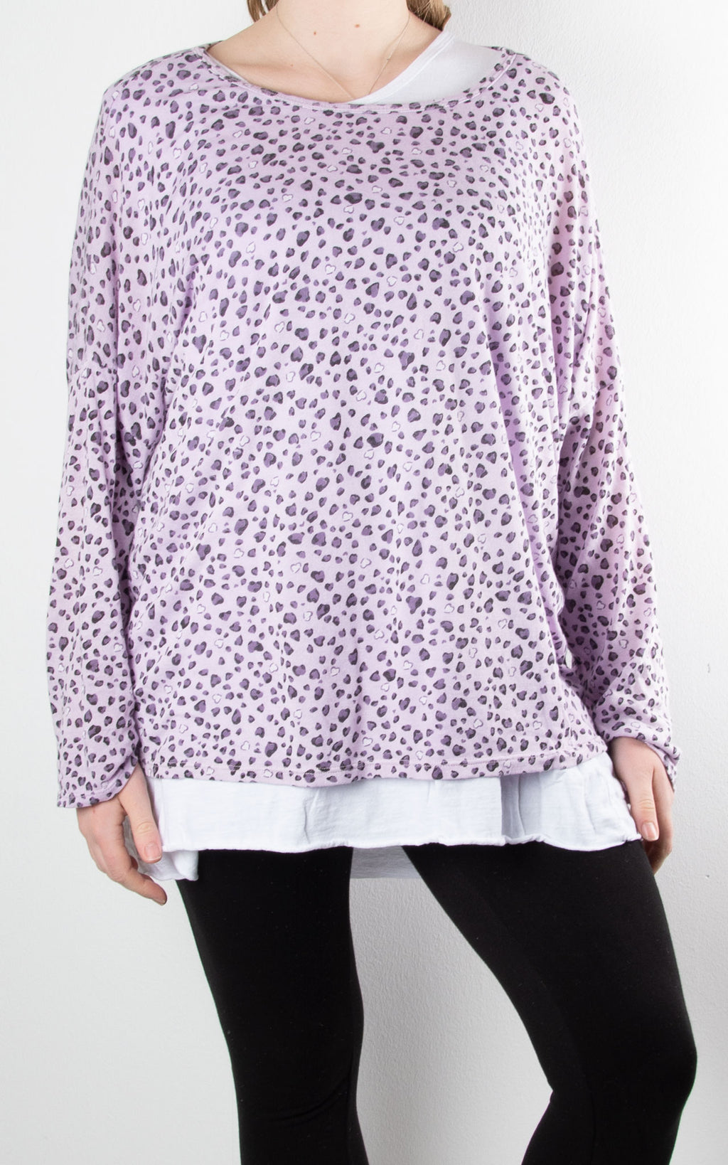 Double Layer | Leopard | Lilac