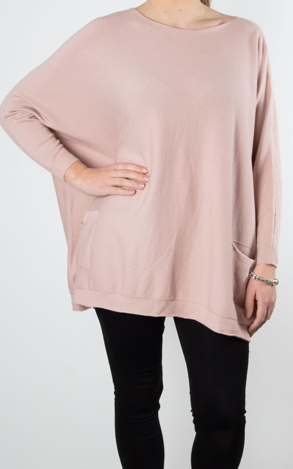 Emily Pocket Knit | Pink