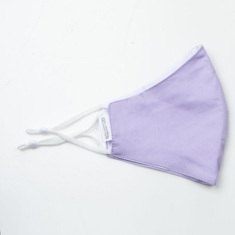 Face Covering Plain Lilac