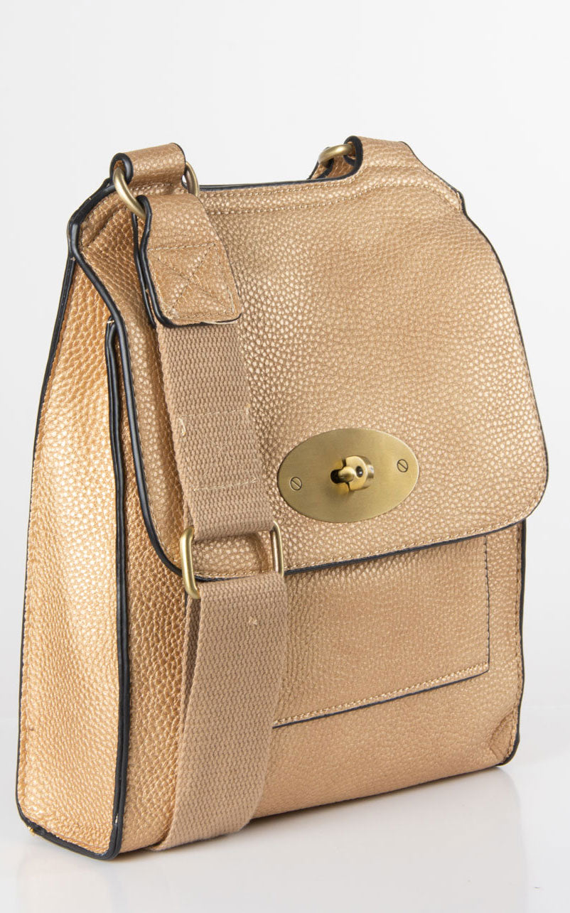 Messenger Bag | Gold