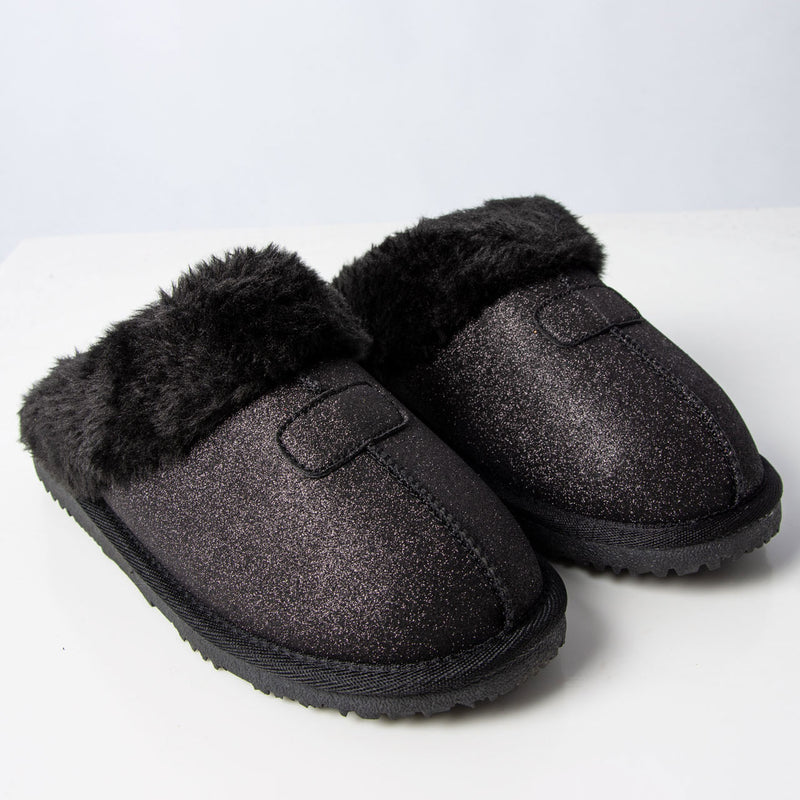Slipper: Gill Slipper Black