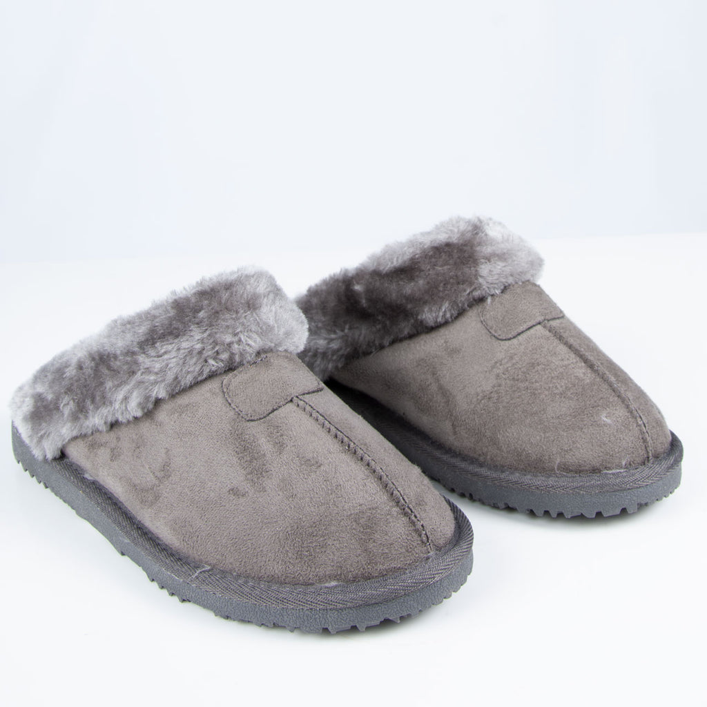 Slipper: Gill Slipper Grey