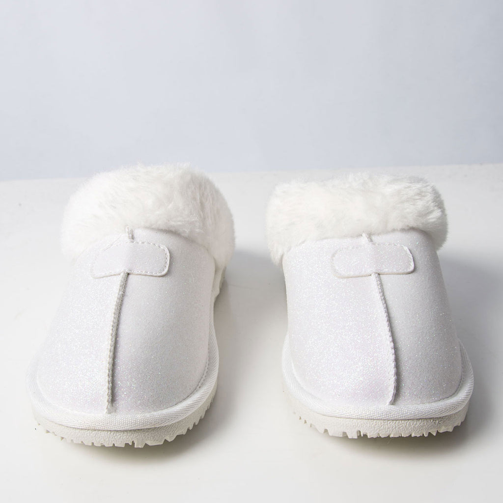 Slipper: Gill Slipper Sparkle White