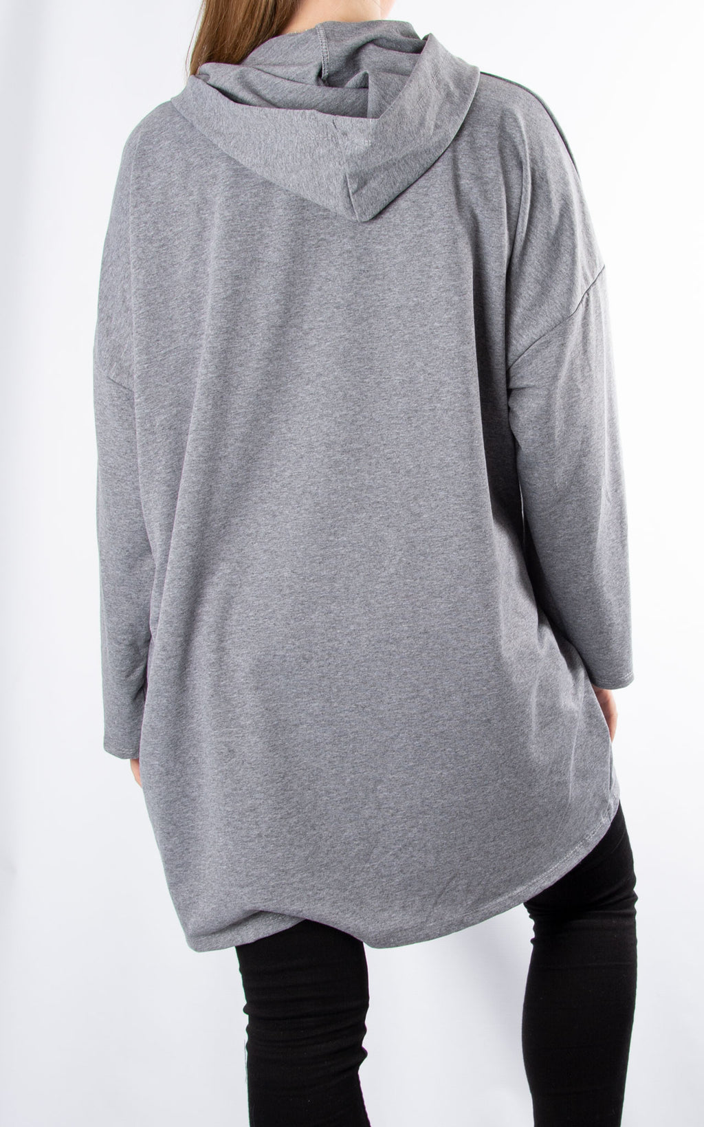 Glitter Star Sweat | Grey