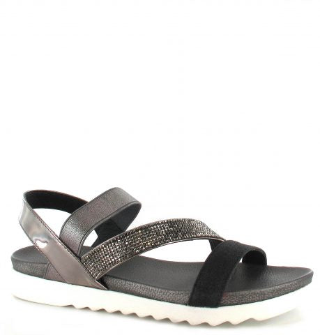 Gloria Sandal | Black