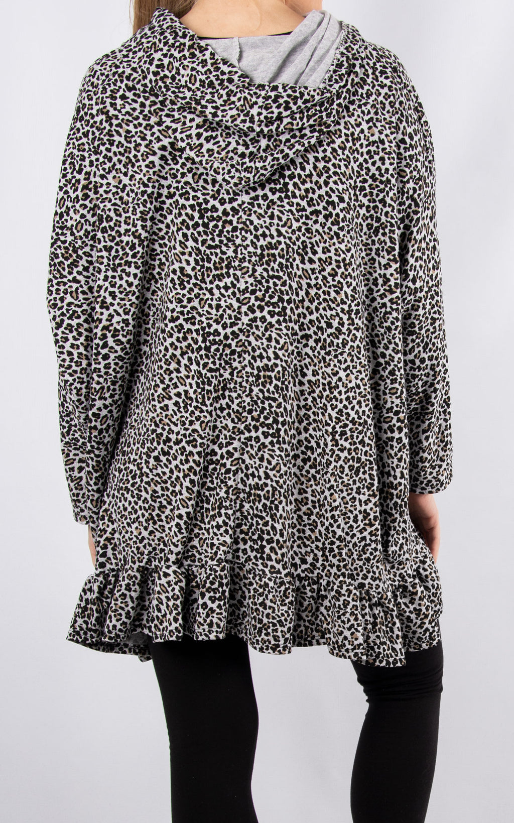 Lisa Leopard Print | Grey