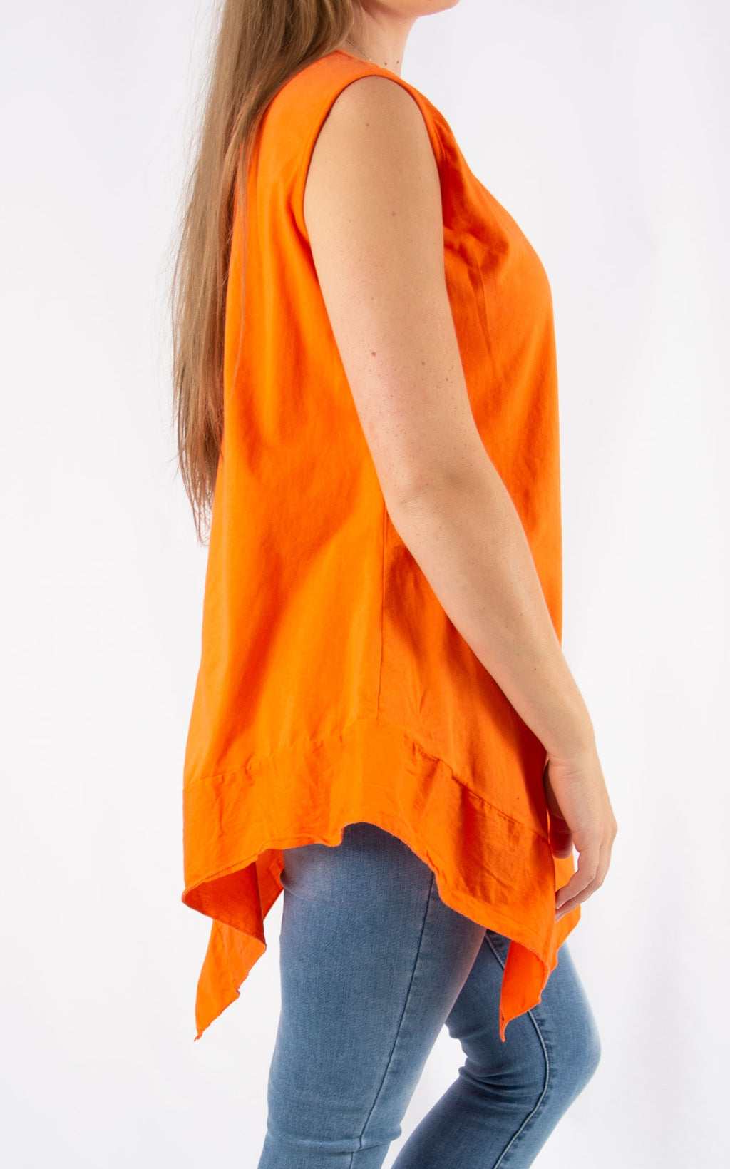 Orange Handkerchief T | Made in Italy