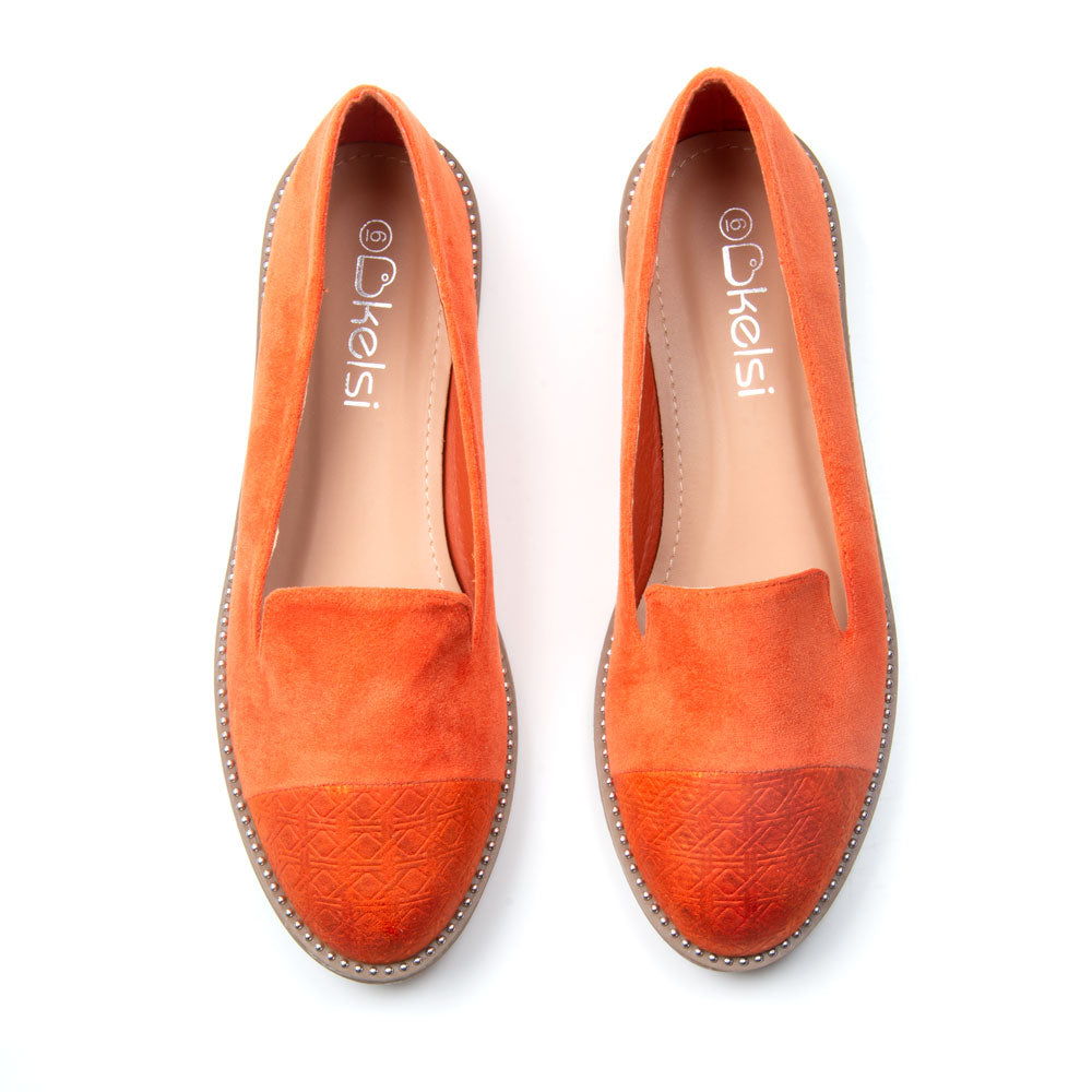 Harper Shoe | Orange