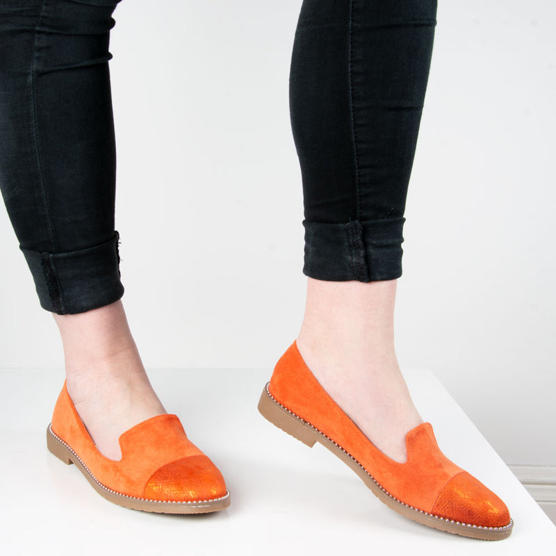 Shoe: Harper | Orange