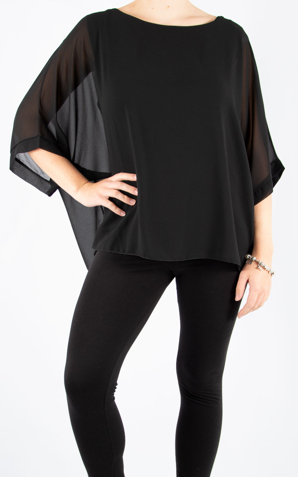 Jade Batwing Black | Made In Italy