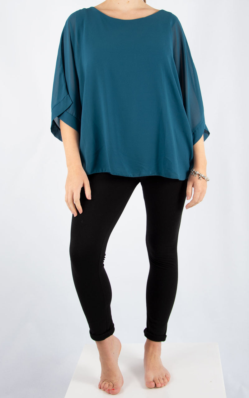 Jade Batwing Teal | Made In Italy