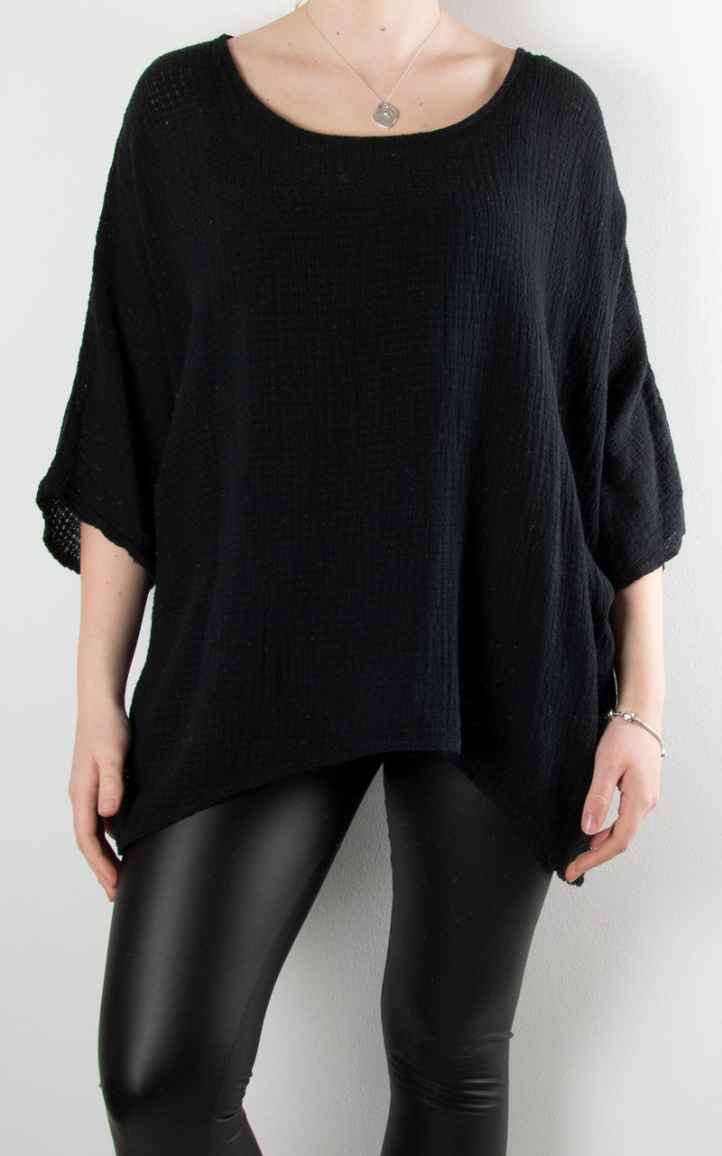 Jamie Top | Black