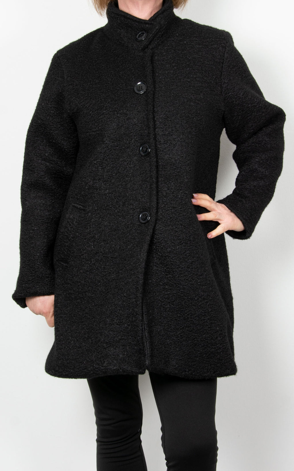 Julie Coat | Black