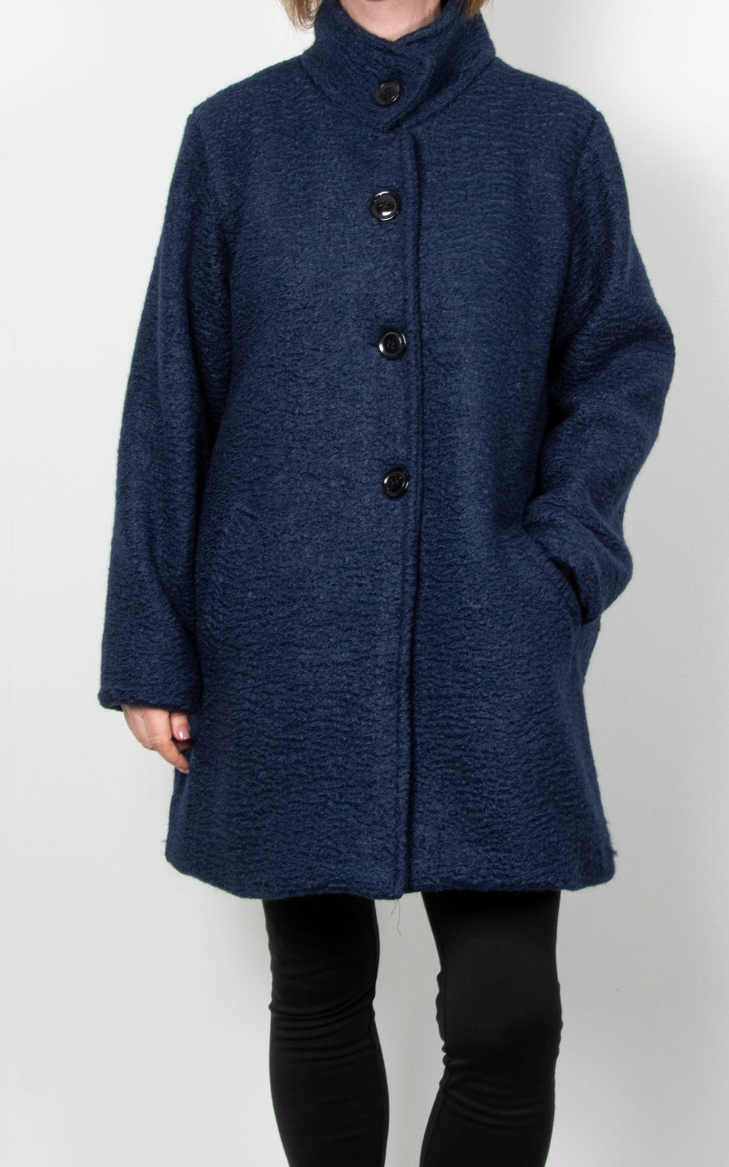 Julie Coat | Navy