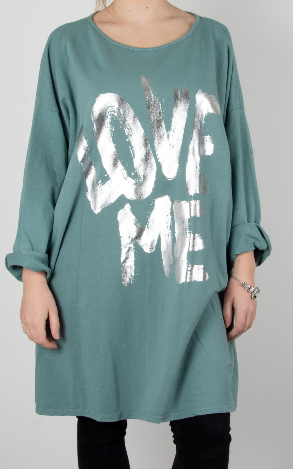Kate Sweat | Love Me | Sea Green