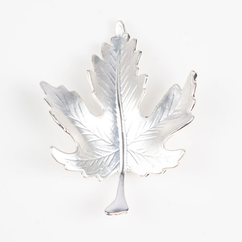 Brooch | Leaf | Silver