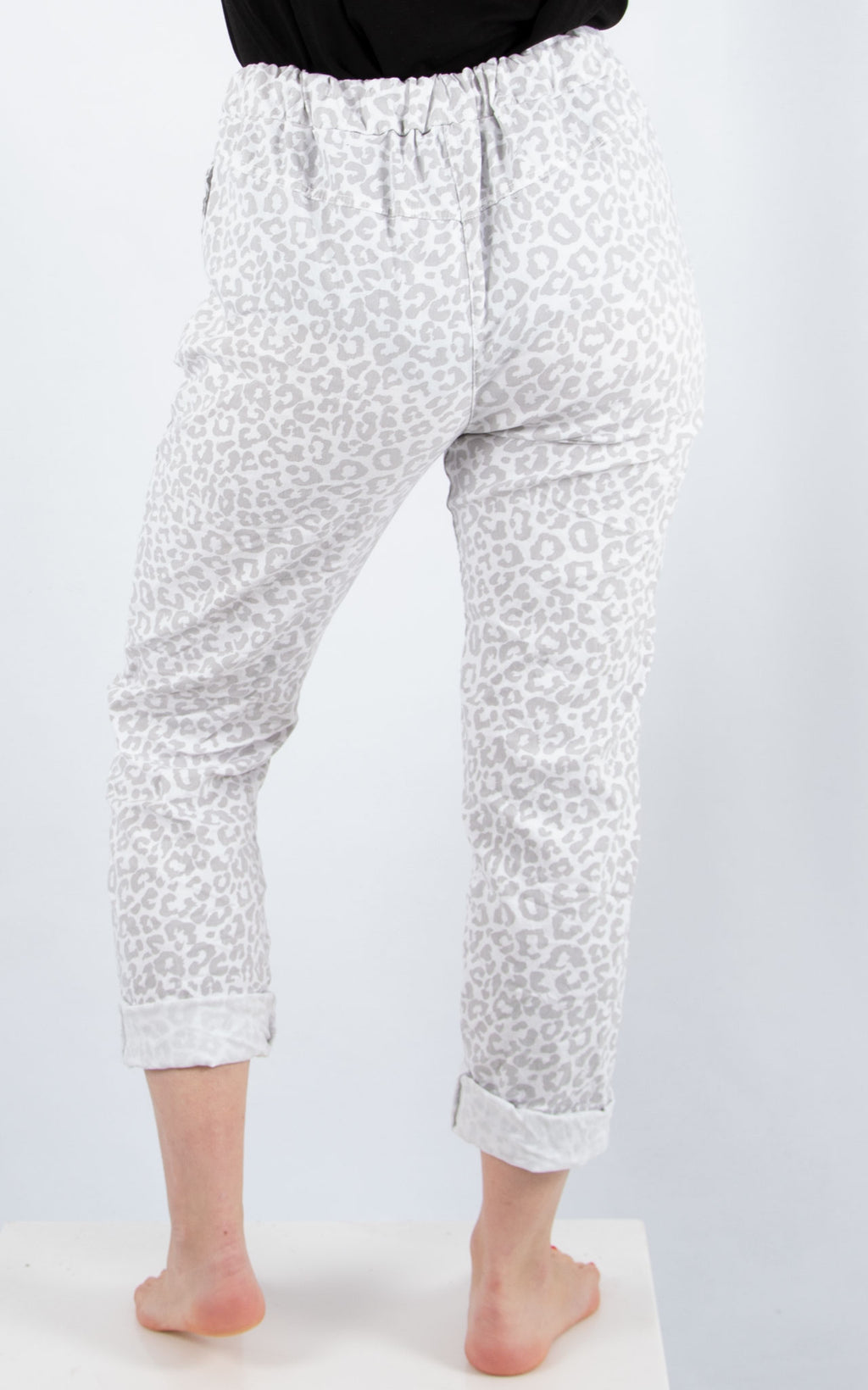 Magic Jogger : White Leopard| Made In Italy