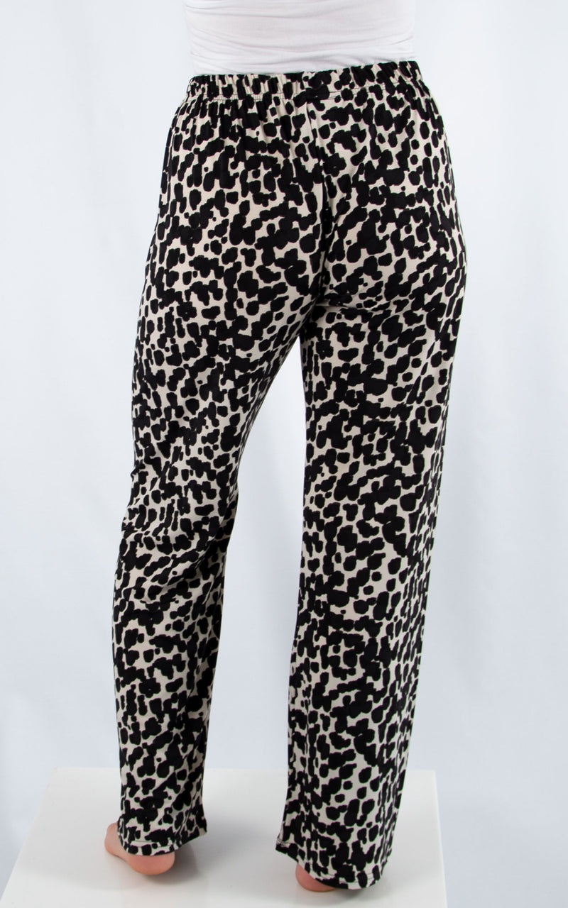 Leopard Patterned Trouser