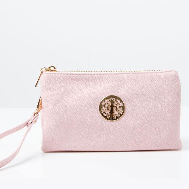 Clutch Bag | Toni | Light Pink
