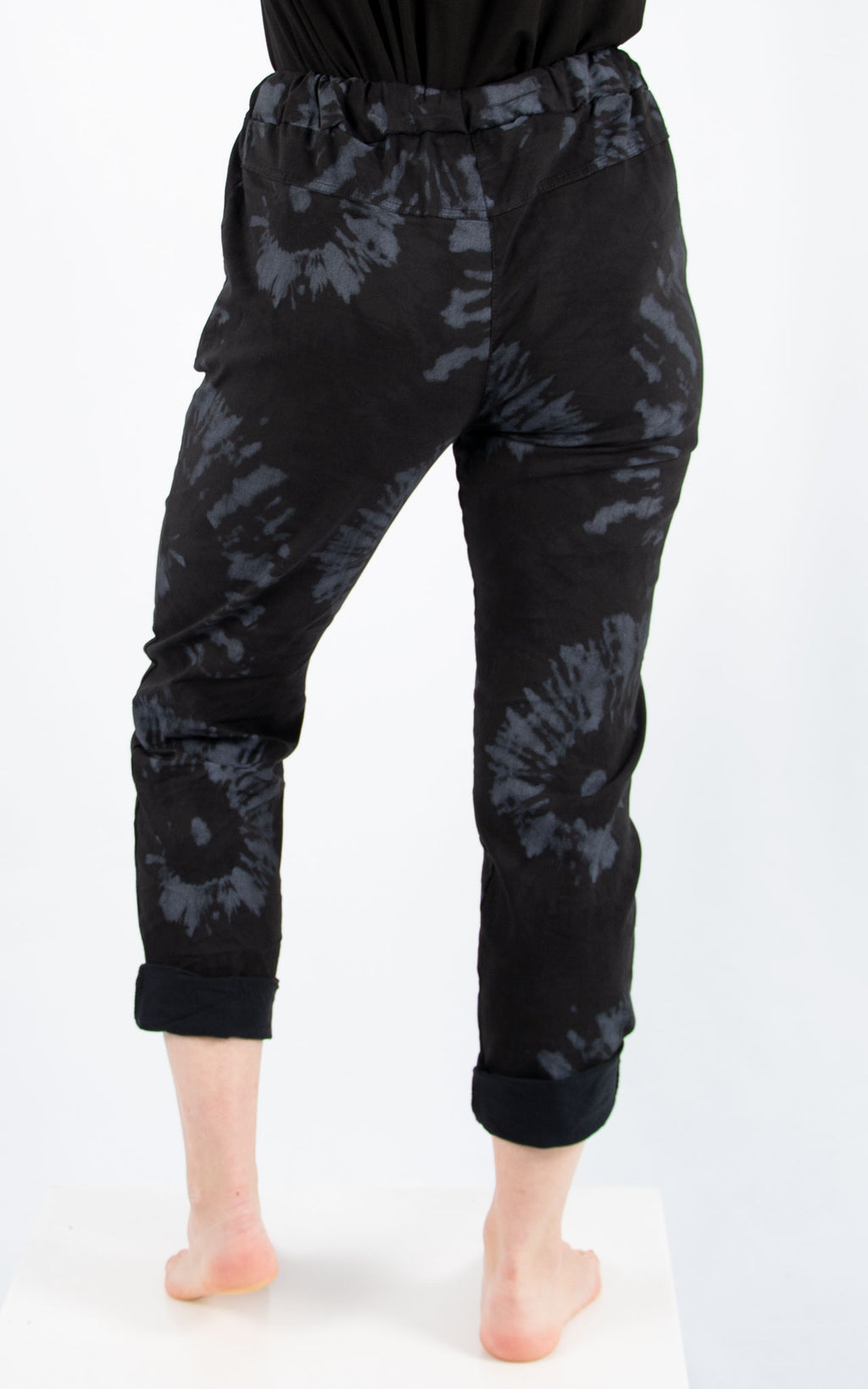Magic Jogger : Black Splatter| Made In Italy