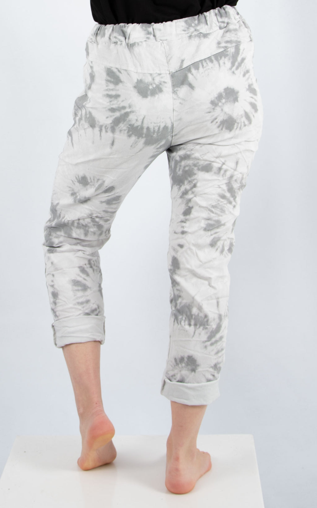 Magic Jogger : Grey Splatter| Made In Italy