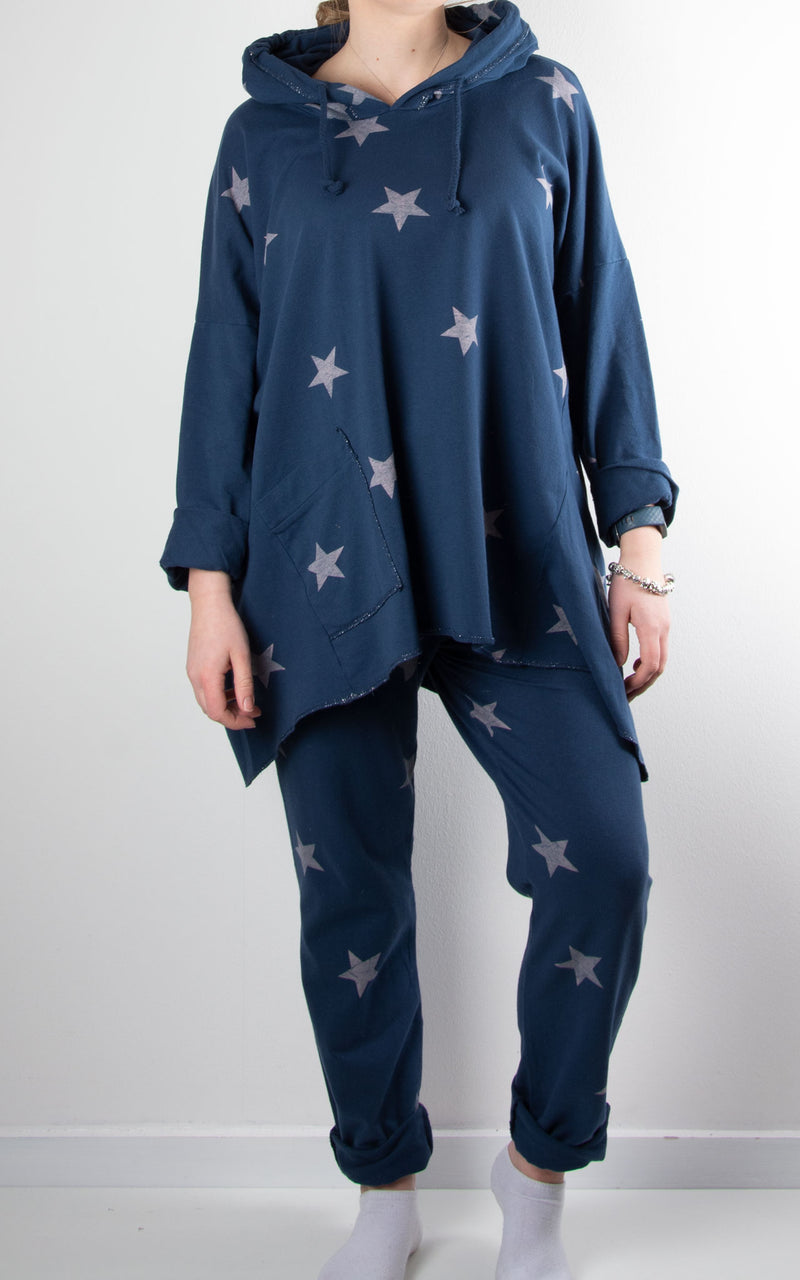 Lounge Set | Stars Pocket | Navy