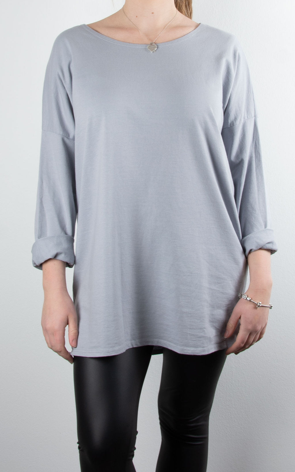 Lounge Top | Light Grey