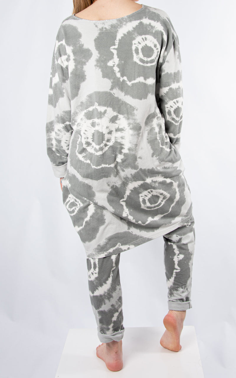 Lounge Set | Splatter | Grey