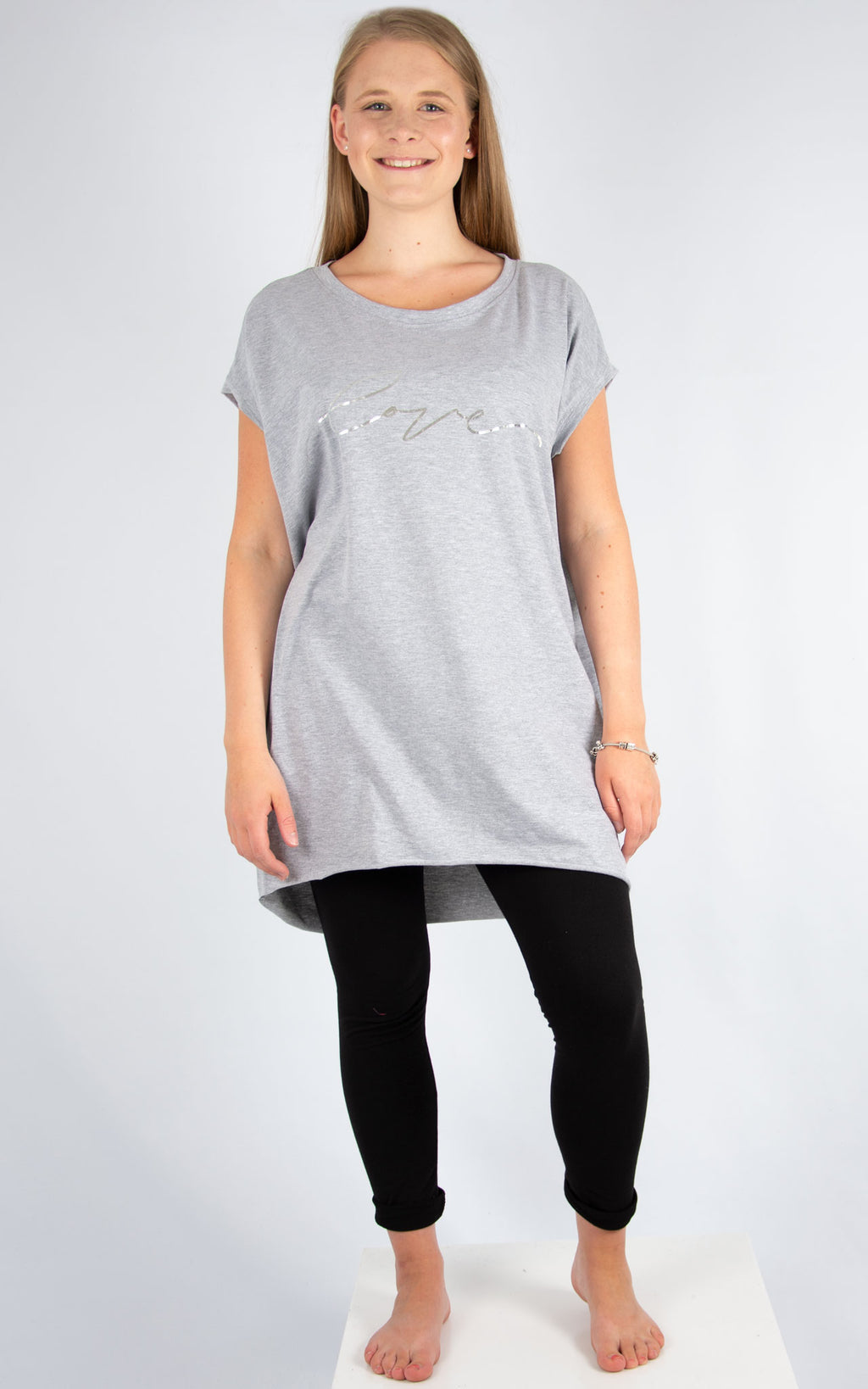 Grey Love T | Made In Italy