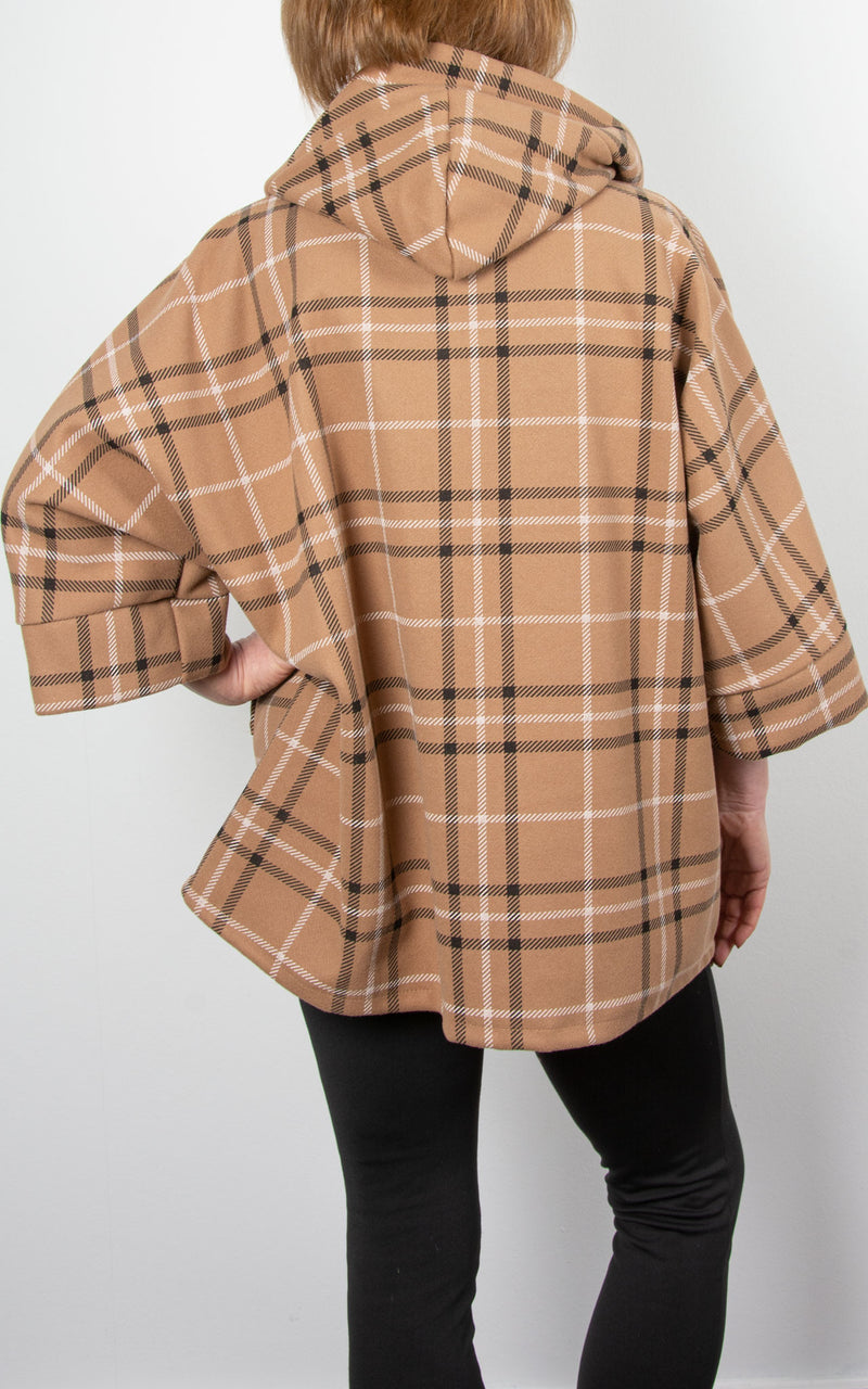 Lucy Swing Coat| Camel
