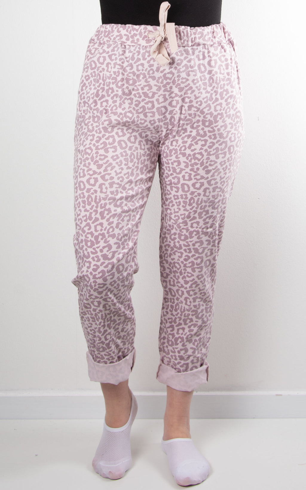 Magic Jogger | Leopard | Mauve