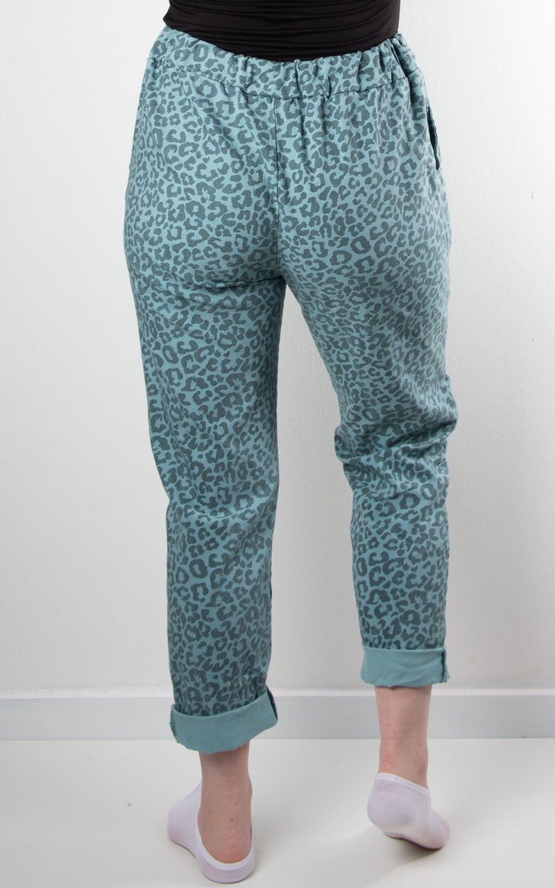 Magic Jogger | Leopard | Teal