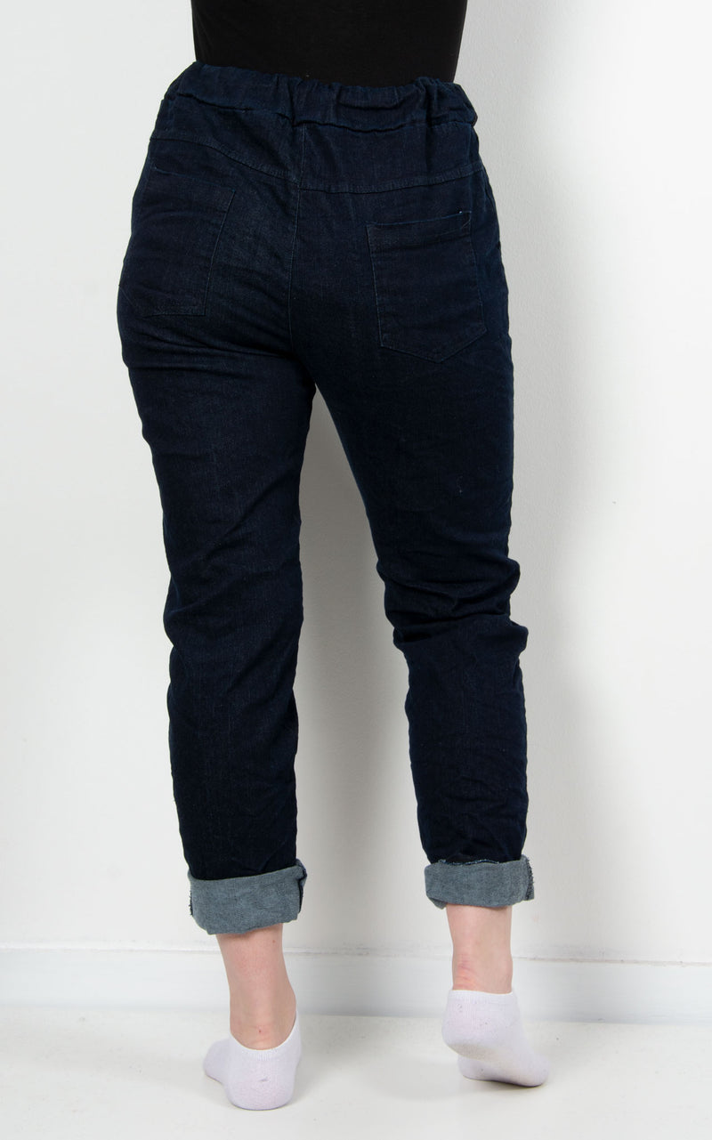 Magic Denim Jogger |