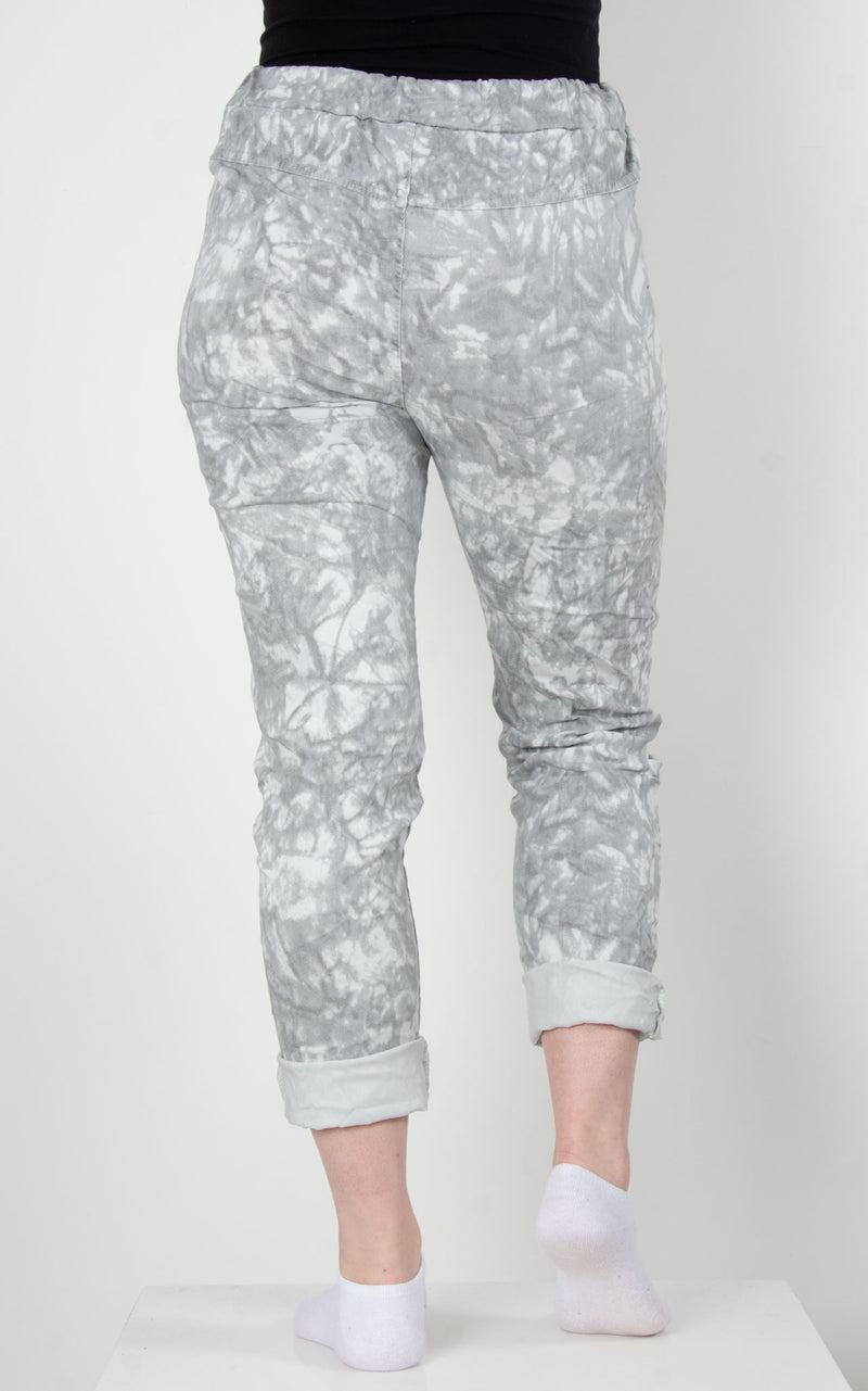 Magic Joggers | Tie Dye | Grey