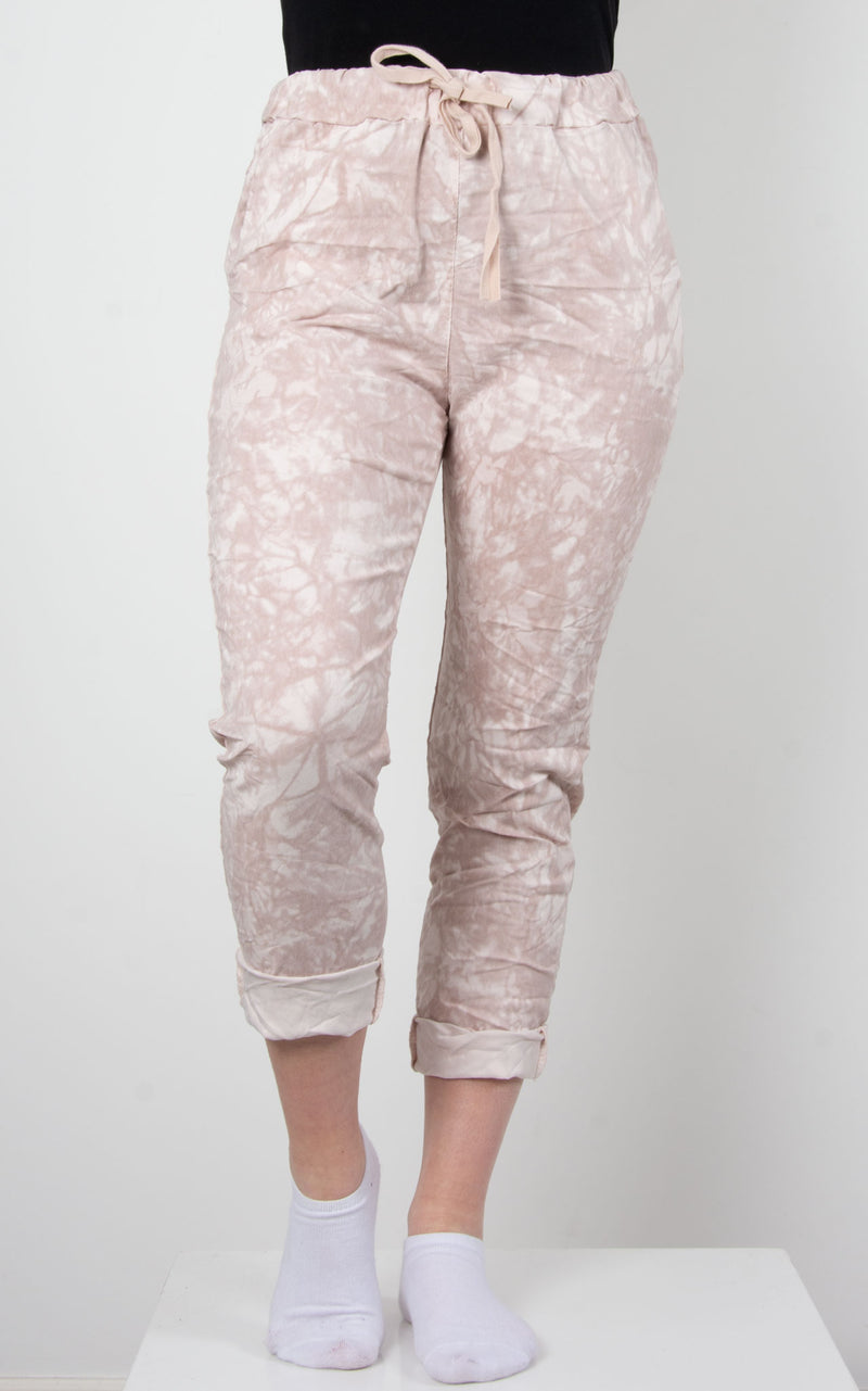 Magic Joggers | Tie Dye | Pink