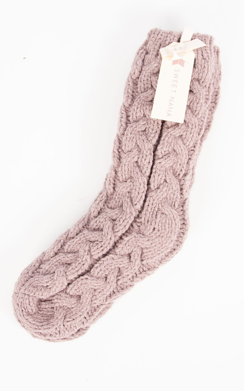 Nanna Socks  | Marron
