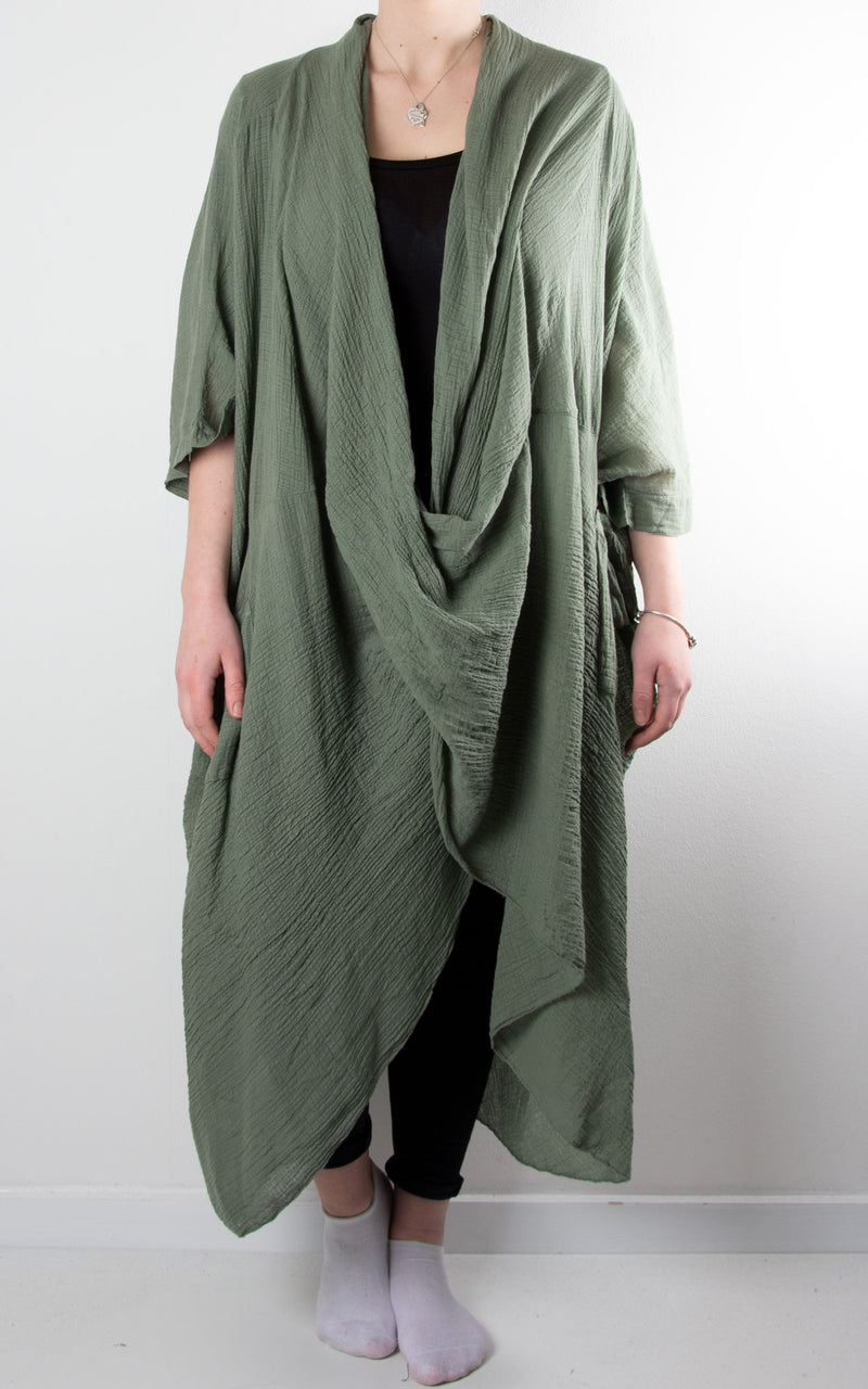 May Wrap Tunic | Khaki