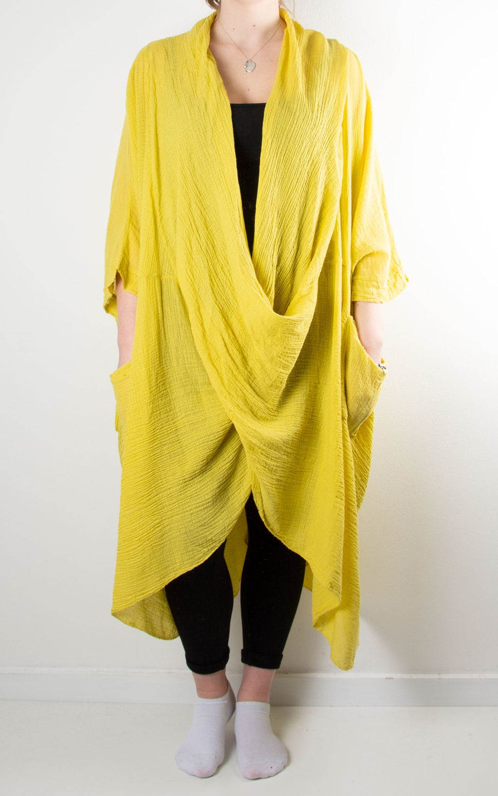 May Wrap Tunic | Yellow