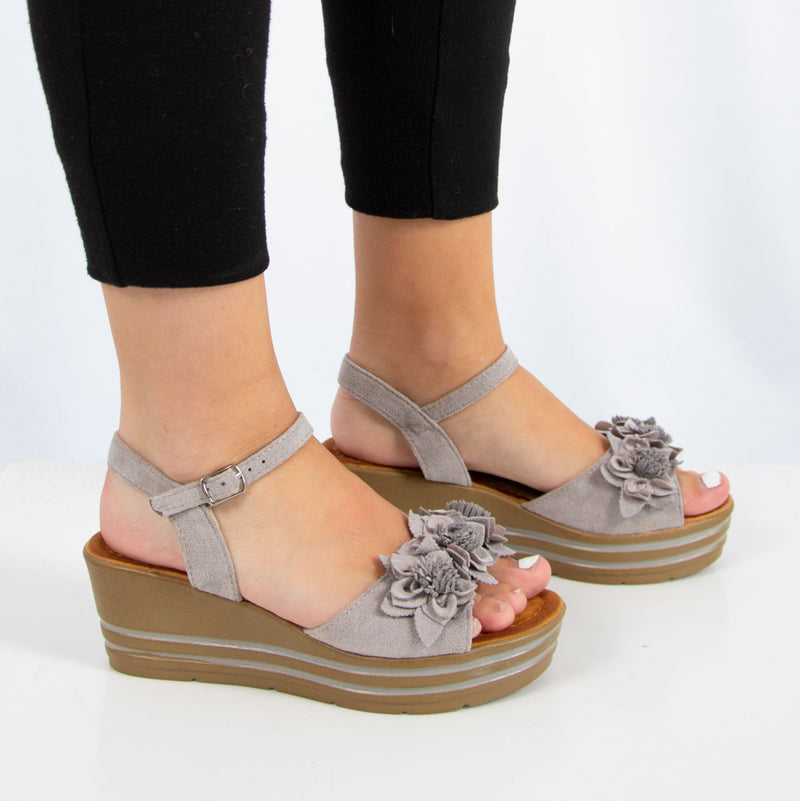 Mei Wedge | Grey