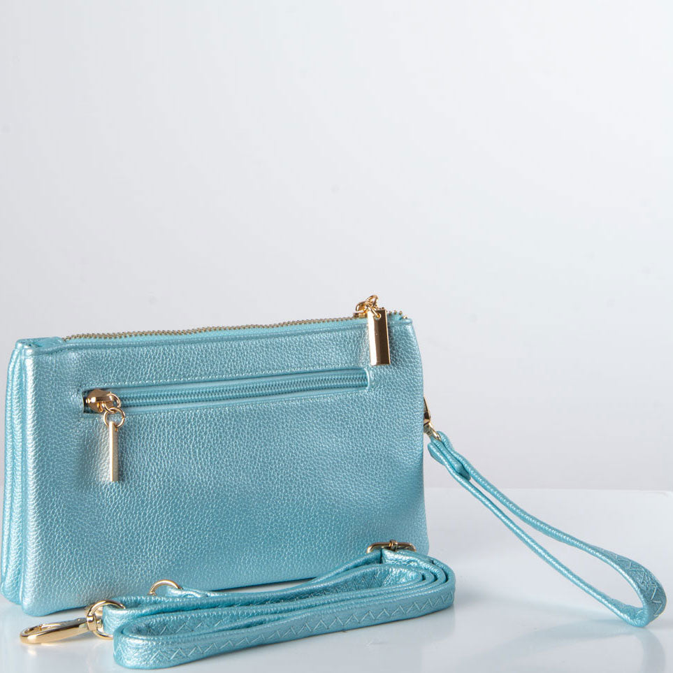 Clutch Bag | Toni | Shining Blue