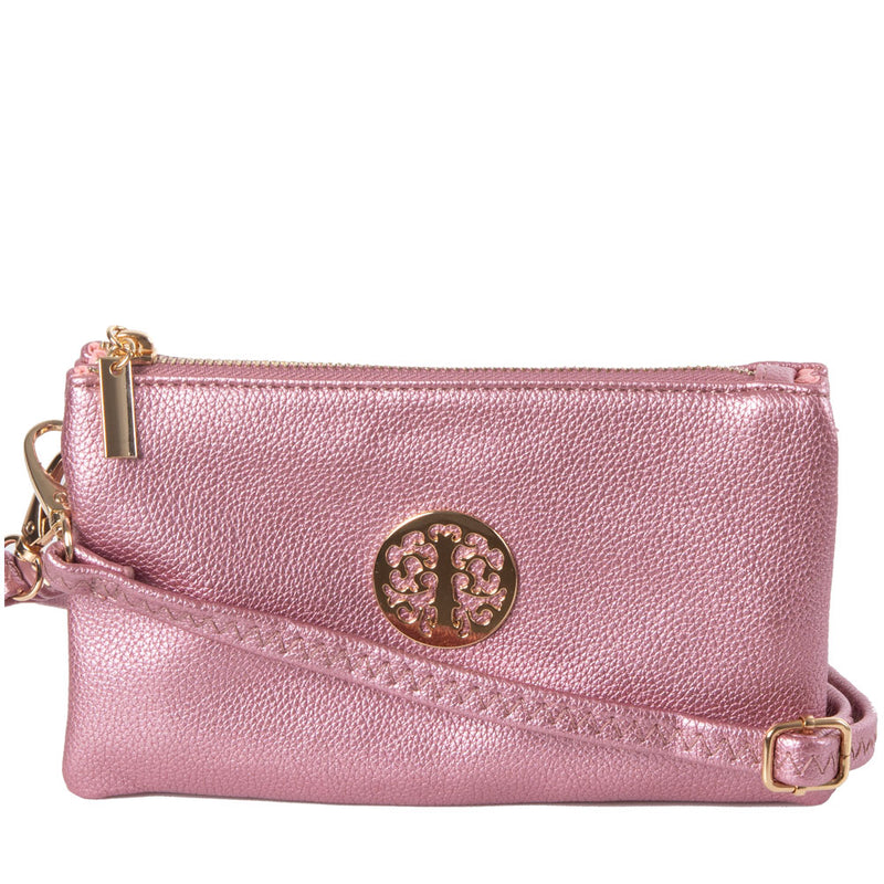 Clutch Bag | Toni | Shining Pink