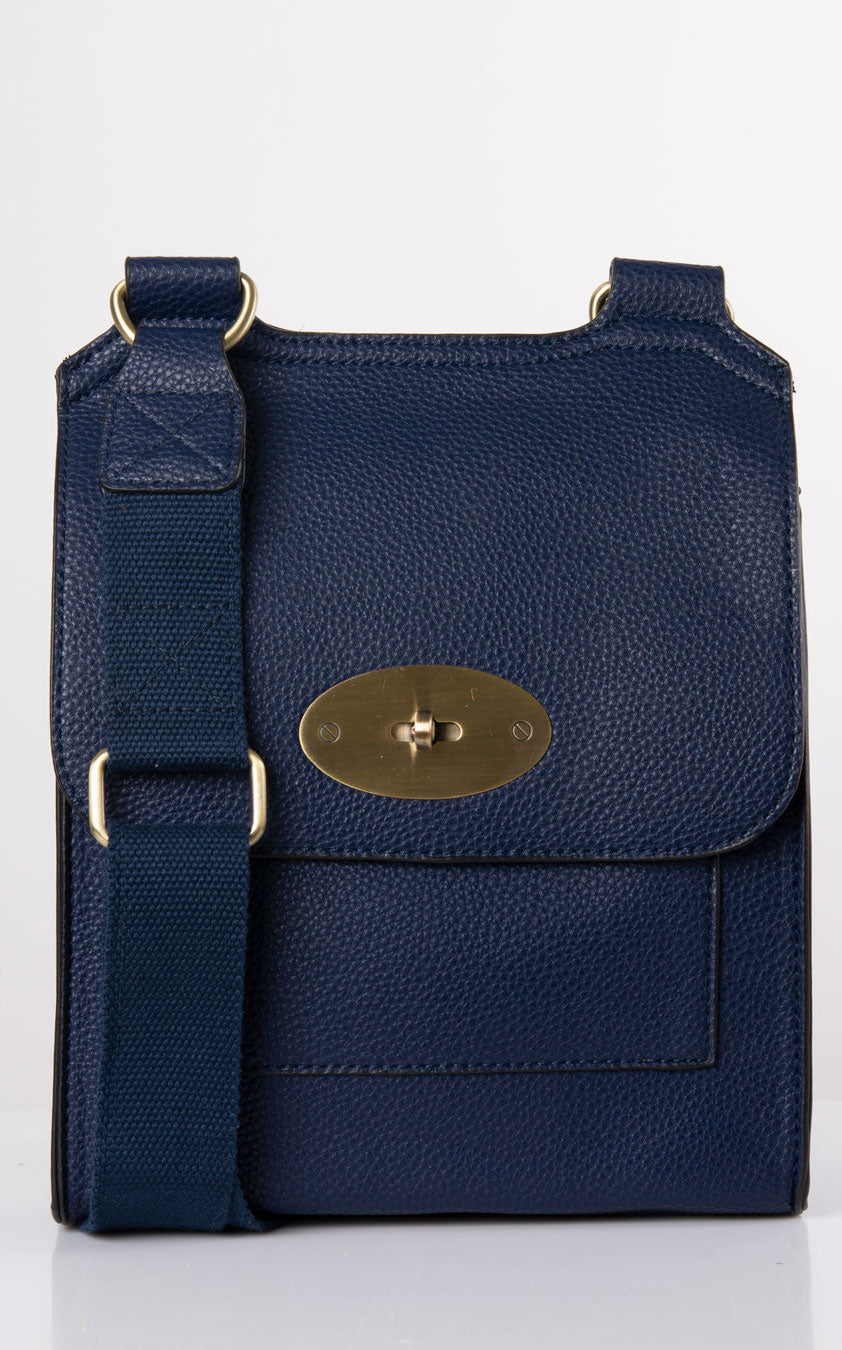 Messenger Bag | Navy