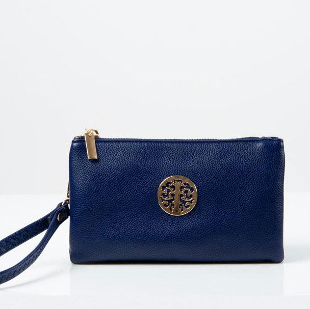 Clutch Bag | Toni | Blue