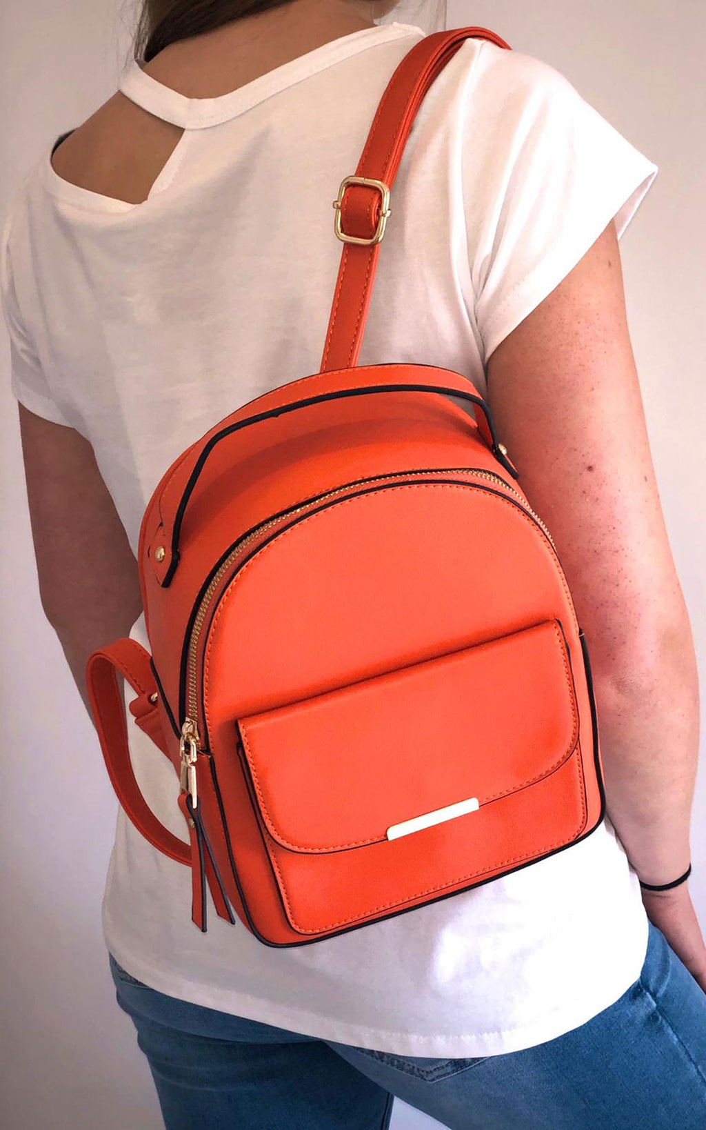 Orange | Bella Backpack