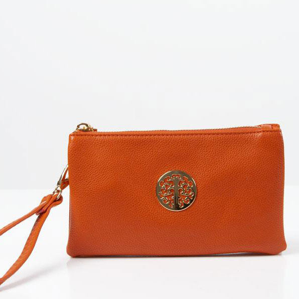 Clutch Bag | Toni | Orange