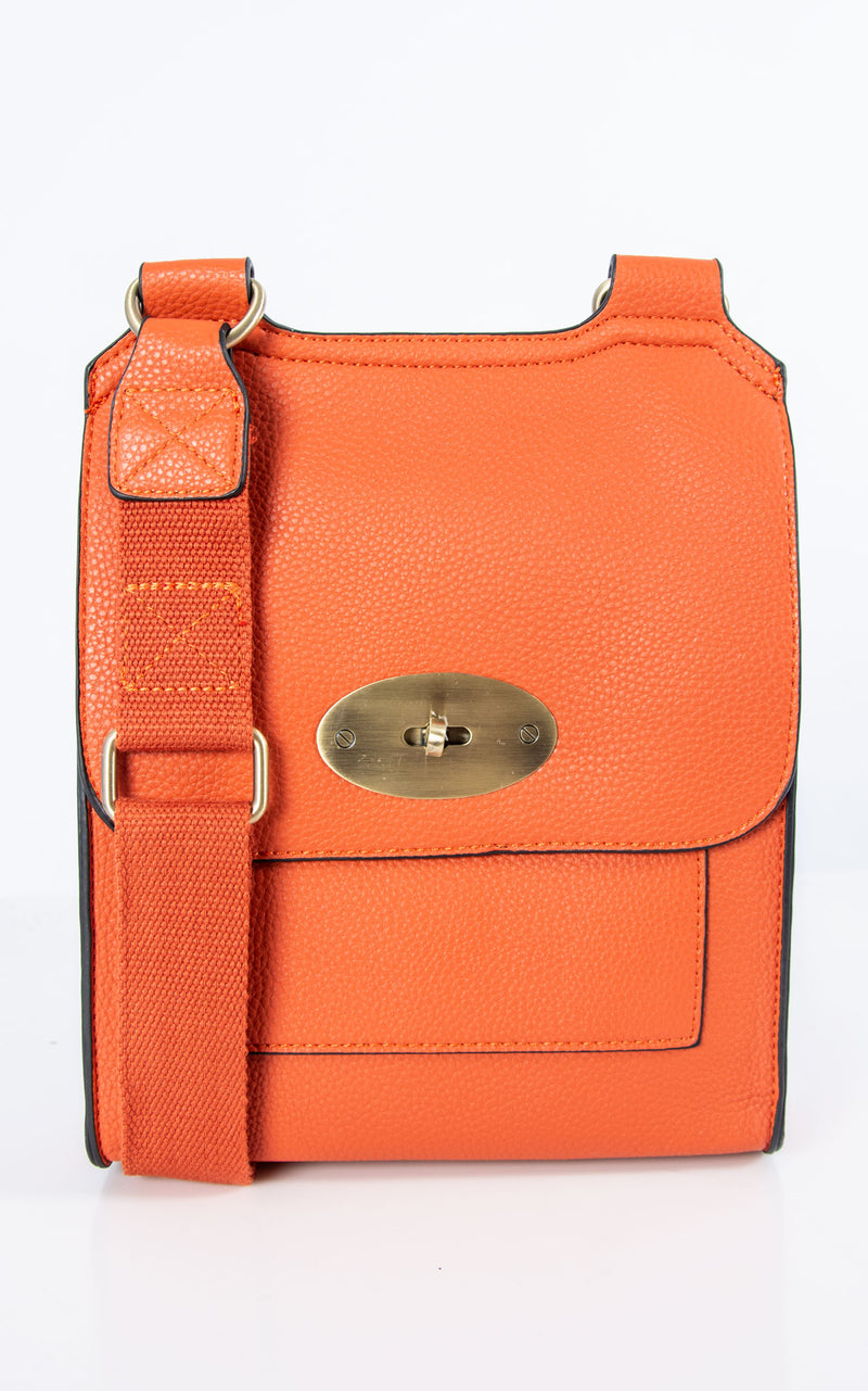 Messenger Bag | Orange