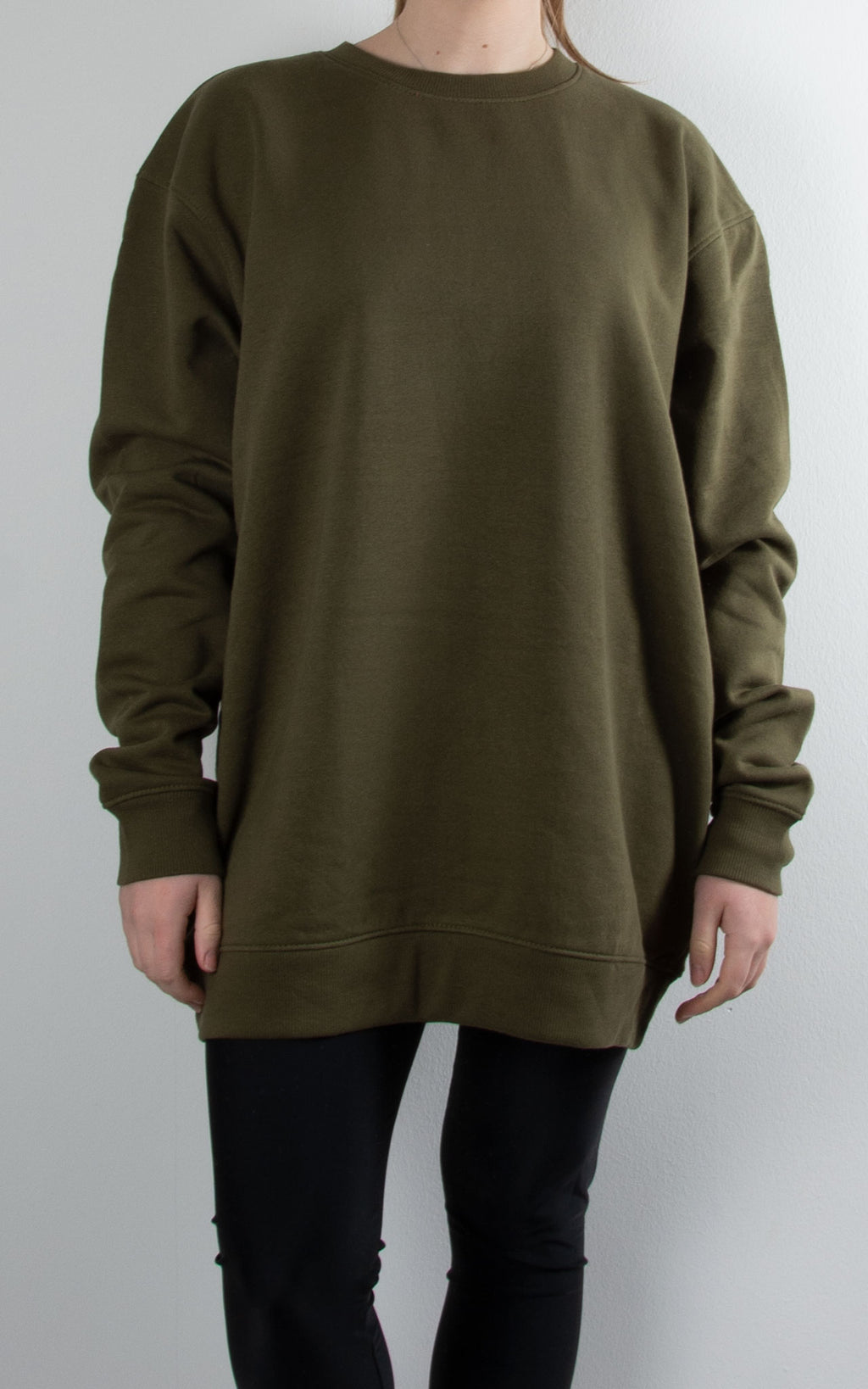 Oversized Sweater | Khaki