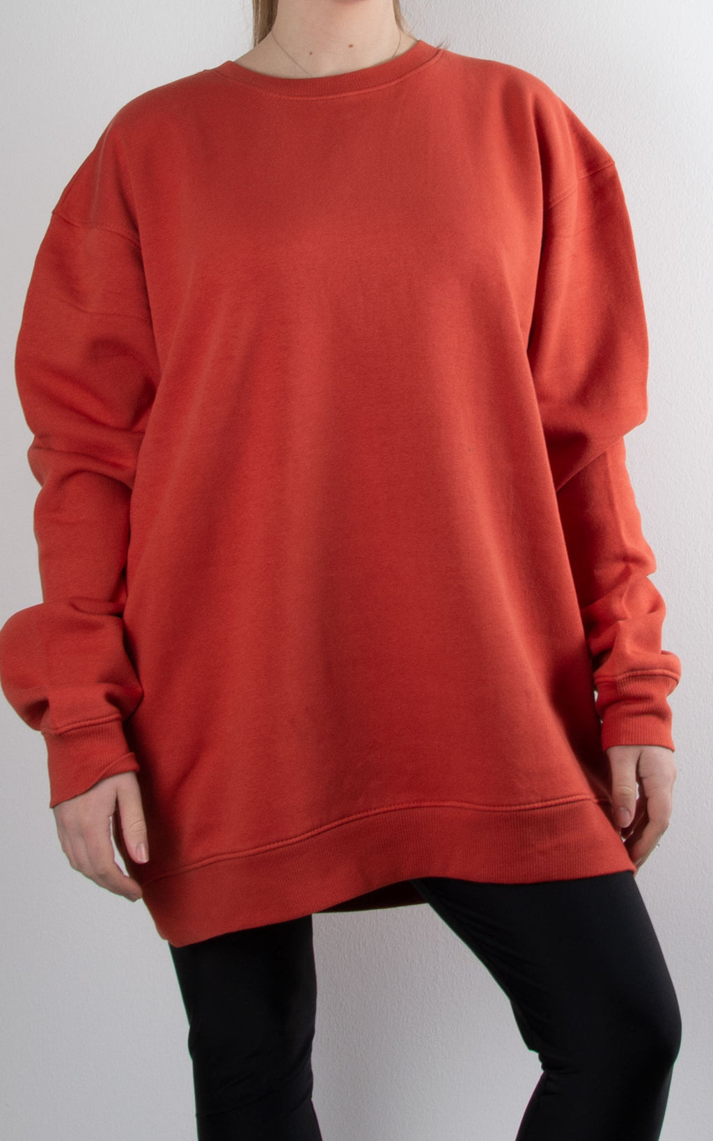 Oversized Sweater | Burnt Orange