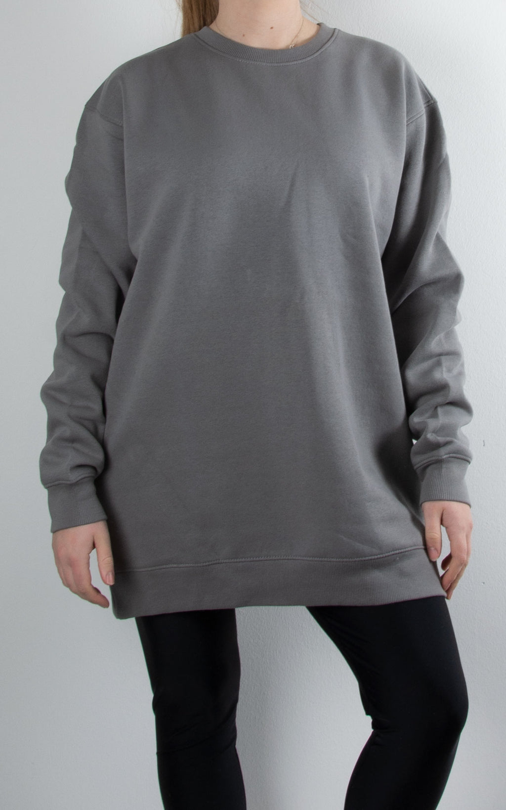 Oversized Sweater | Grey